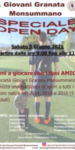SPECIALE OPEN DAY